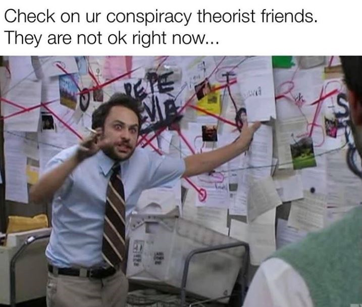 Conspiracy theory friends