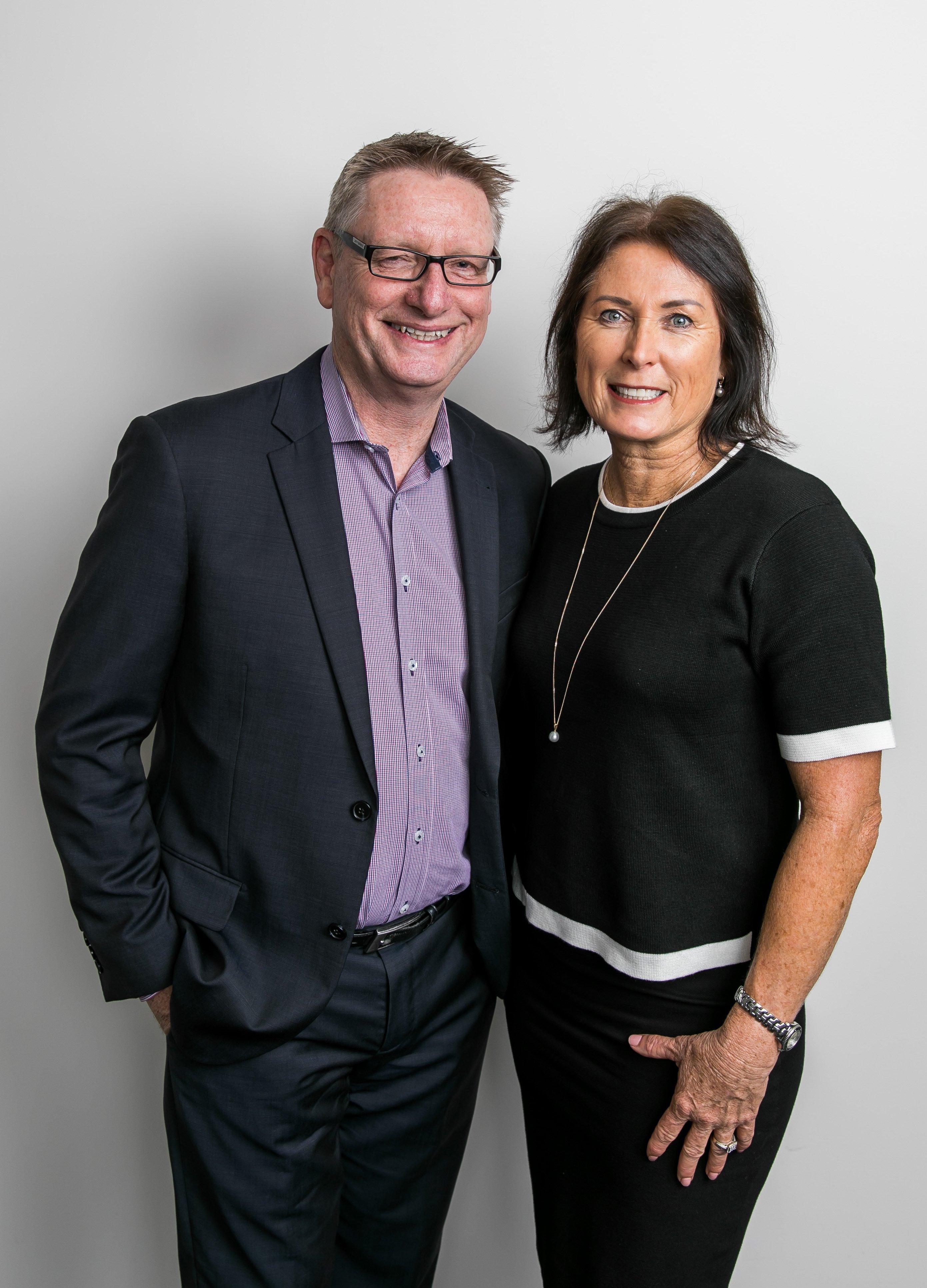 Martin and Gabrielle Palin